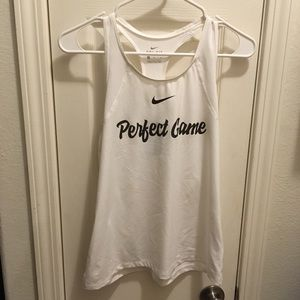 Nike perfect game tank top size m